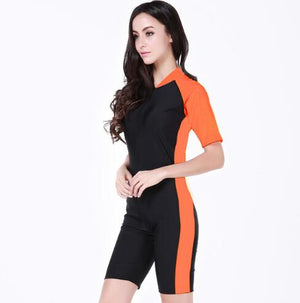Open image in slideshow, Anti-UV Lycra Short Sleeve wetsuit