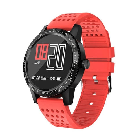 Image of waterproof Blood pressure support fitness watch