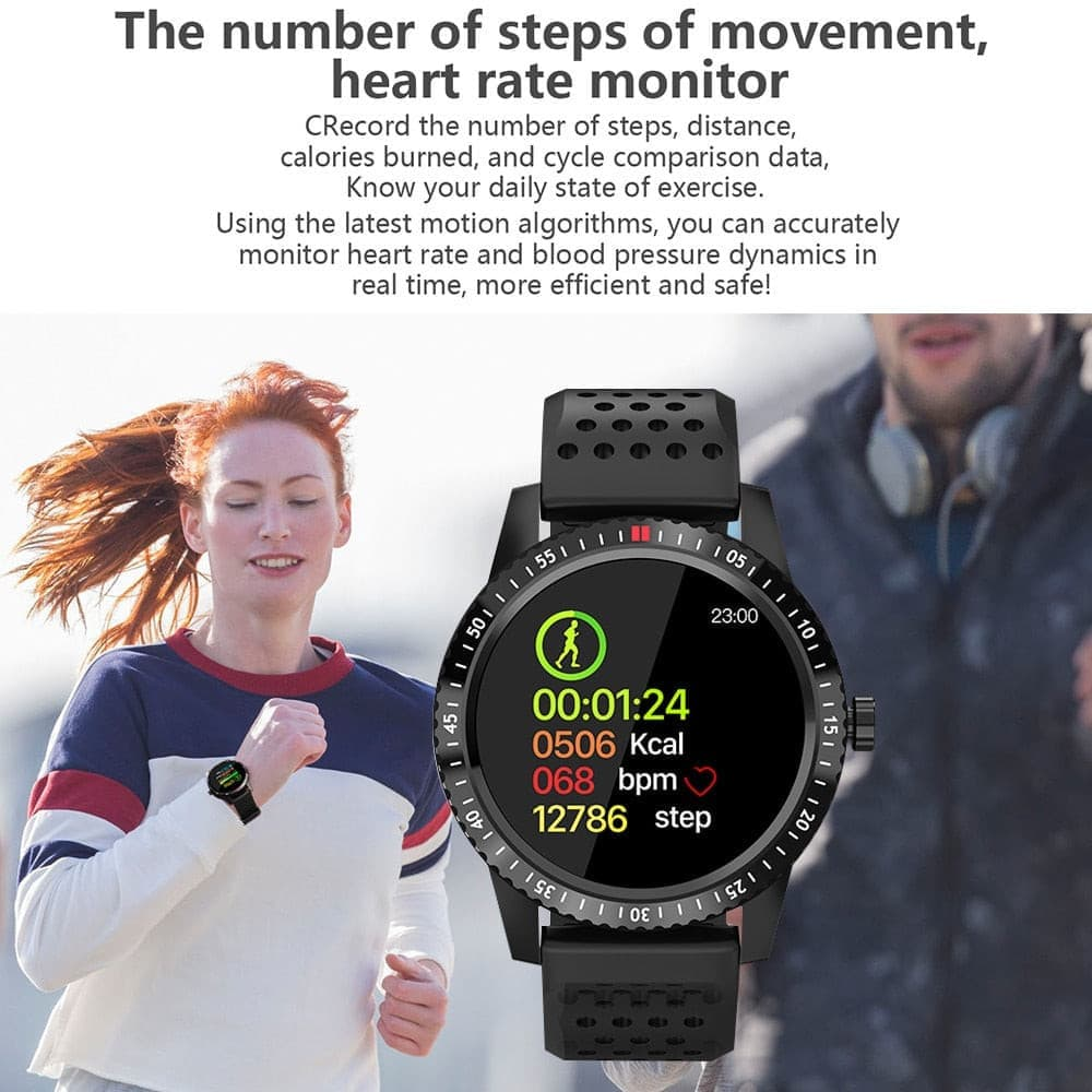 waterproof Blood pressure support fitness watch