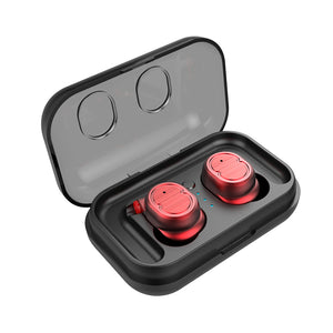Open image in slideshow, Wireless Bluetooth Earphone With Charging Box