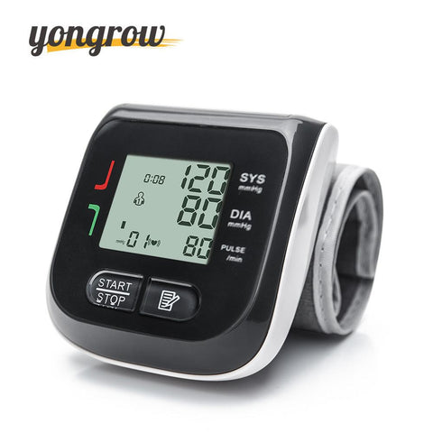 Image of Automatic Wrist Blood Pressure Monitor Digital LCD Cuff  home blood pressure Monitor- ULTRABEAST FITNESS