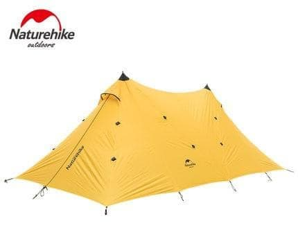 20D Silicone Nylon Large Waterproof Camping Tent 8-10 Person Single Layer Hiking Tower Tarp- ULTRABEAST FITNESS