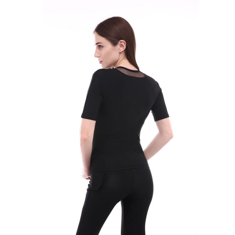 Women short sleeve sauna/slim suit