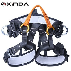 Open image in slideshow, Rock Climbing Half Body Waist Support Safety Harness