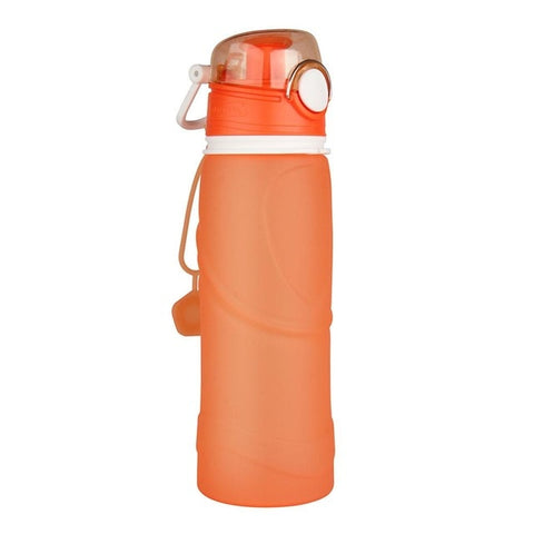 Image of 750ML Collapsible Silicone Water Bottles- ULTRABEAST FITNESS