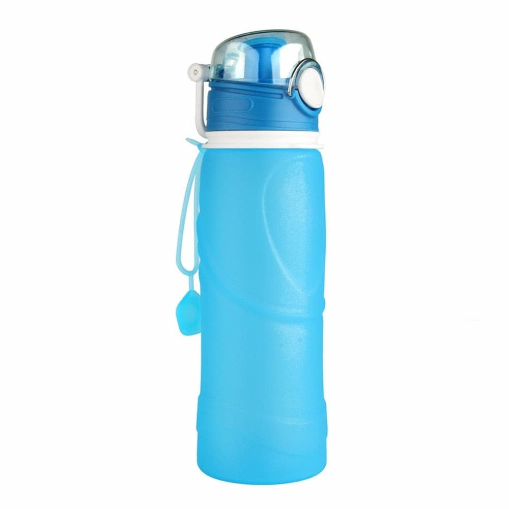 750ML Collapsible Silicone Water Bottles- ULTRABEAST FITNESS