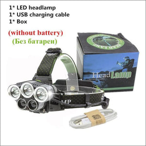 Open image in slideshow, 8000 Lumens Ultra Bright LED Headlamp- ULTRABEAST FITNESS