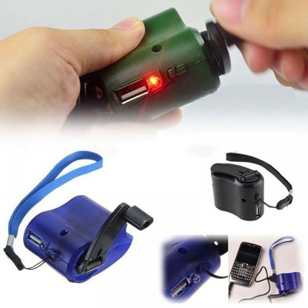 USB Phone Emergency Charger For Camping Hiking Outdoors