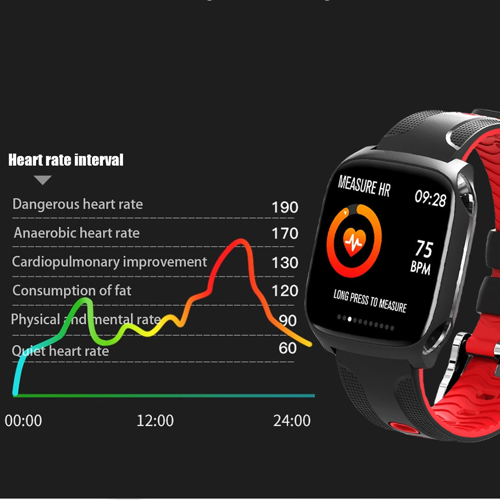 TF9 Smart Watch Color screen and heart rate monitor
