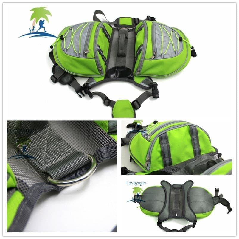 High quality pet waterproof Adjustable nylon Pet Backpack