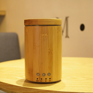 Open image in slideshow, Bamboo Essential Oil Diffuser 24v