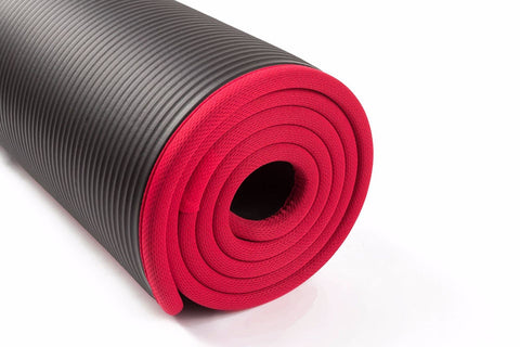 Image of 10MM Extra Thick 183cmX61cm High Quality  Non slip Yoga Mats For Fitness