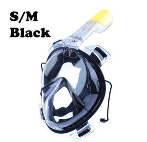 Open image in slideshow, Underwater Scuba Anti Fog Full Face Diving Mask Snorkeling Set