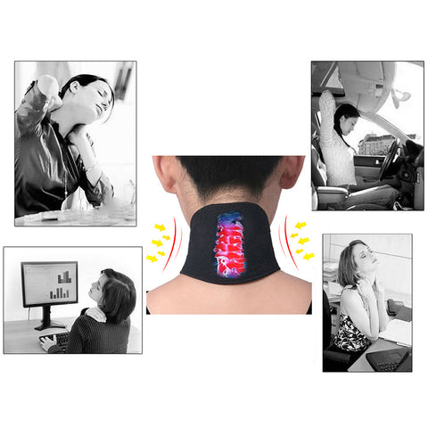 Image of Self-heating Neck Massager
