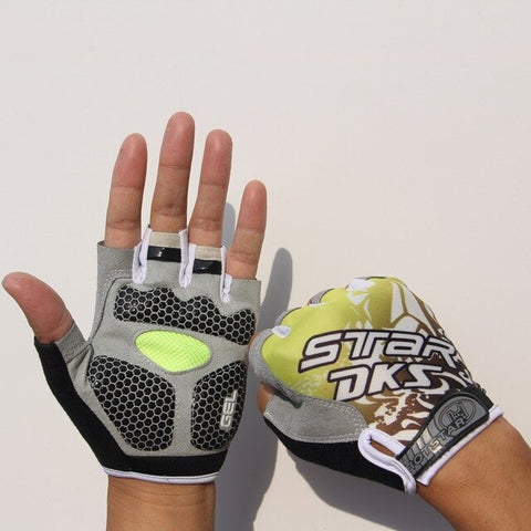 Sports 3D Gel Padded Anti-Slip Gym Gloves