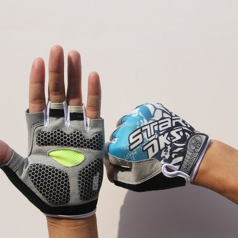 Image of Sports 3D Gel Padded Anti-Slip Gym Gloves