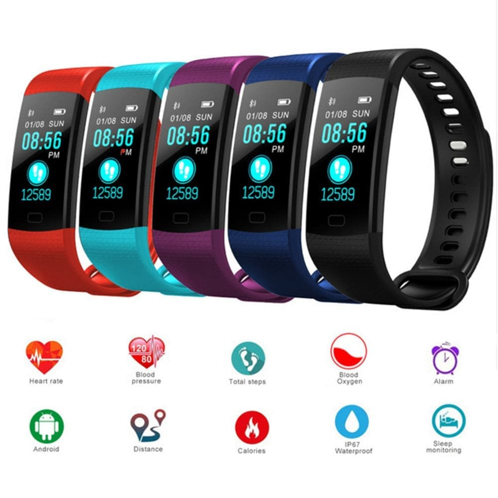 Bluetooth Smart Bracelet Heart Rate activity fitness tracker and blood pressure Monitoring- ULTRABEAST FITNESS
