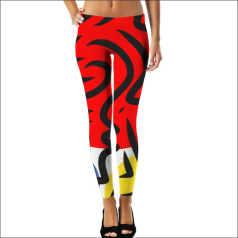 Abstract Colorful Pattern leggings- ULTRABEAST FITNESS
