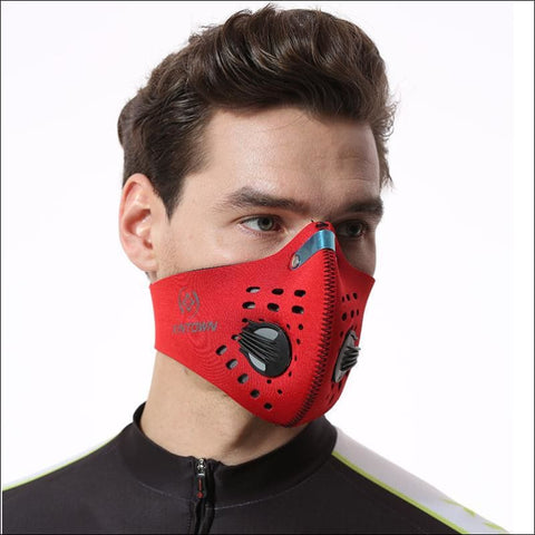 Image of Activated Carbon Dust-proof Cycling Face Mask Anti-Pollution Bicycle Bike Outdoor Training  shield- ULTRABEAST FITNESS