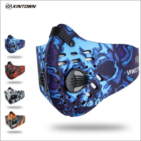 Activated Carbon Dust-proof Cycling Face Mask Anti-Pollution Bicycle Bike Outdoor Training  shield- ULTRABEAST FITNESS