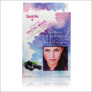 Open image in slideshow, Blueberry and Acai Berry Hydrating Facial Mask- ULTRABEAST FITNESS