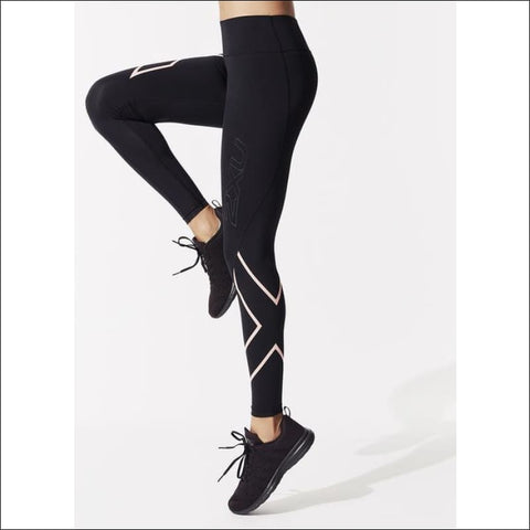 BONDED MID-RISE COMPRESSION TIGHTS- ULTRABEAST FITNESS