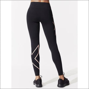 BONDED MID-RISE COMPRESSION TIGHTS