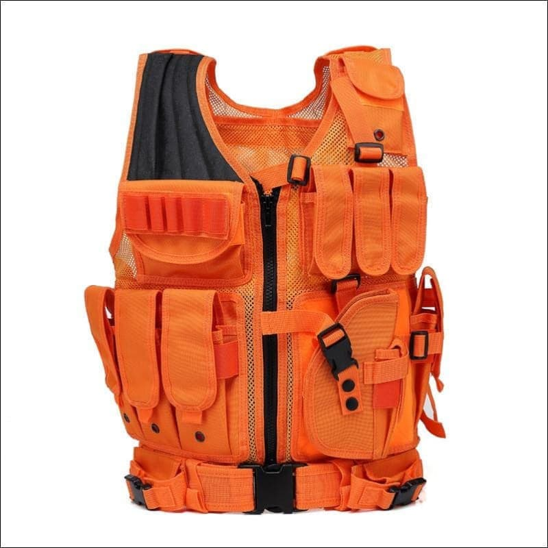 Bright Orange Hunting Vest- ULTRABEAST FITNESS