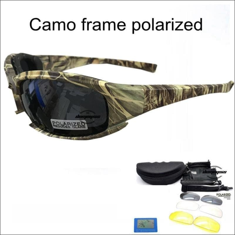 Camouflage Frame Men's Polarized Glasses- ULTRABEAST FITNESS