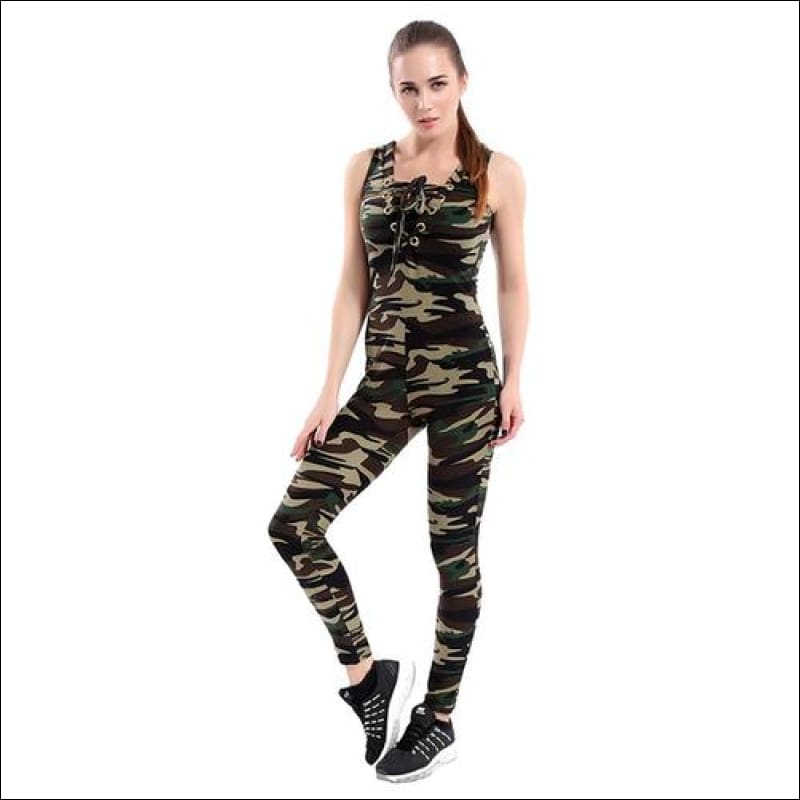 Camouflage Printed Activewear- ULTRABEAST FITNESS
