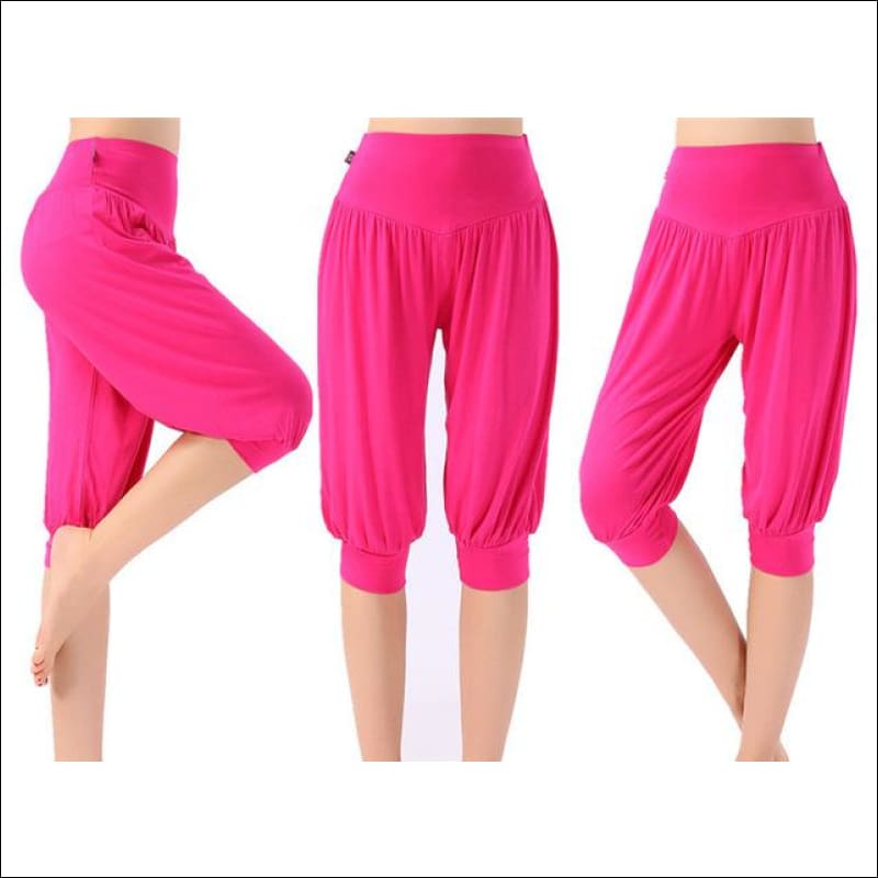 Colorful Bloomers Dance Yoga Pants- ULTRABEAST FITNESS