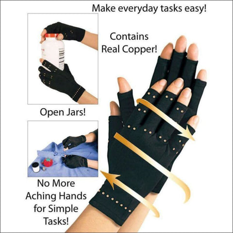 Copper Hands Arthritis Gloves- ULTRABEAST FITNESS