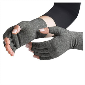Copper infused Fingerless Gloves- ULTRABEAST FITNESS