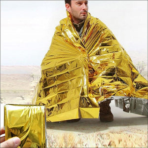 Emergency Solar Blanket Survival Safety- ULTRABEAST FITNESS