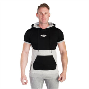 Open image in slideshow, FLEX SHORT SLEEVES HOODIE- ULTRABEAST FITNESS