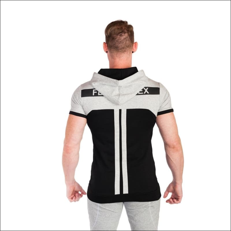 FLEX SHORT SLEEVES HOODIE- ULTRABEAST FITNESS
