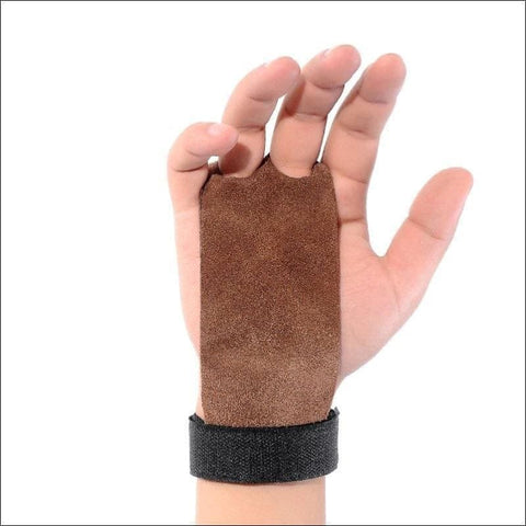 Genuine Cowhide Leather Pull Up Gym glove- ULTRABEAST FITNESS