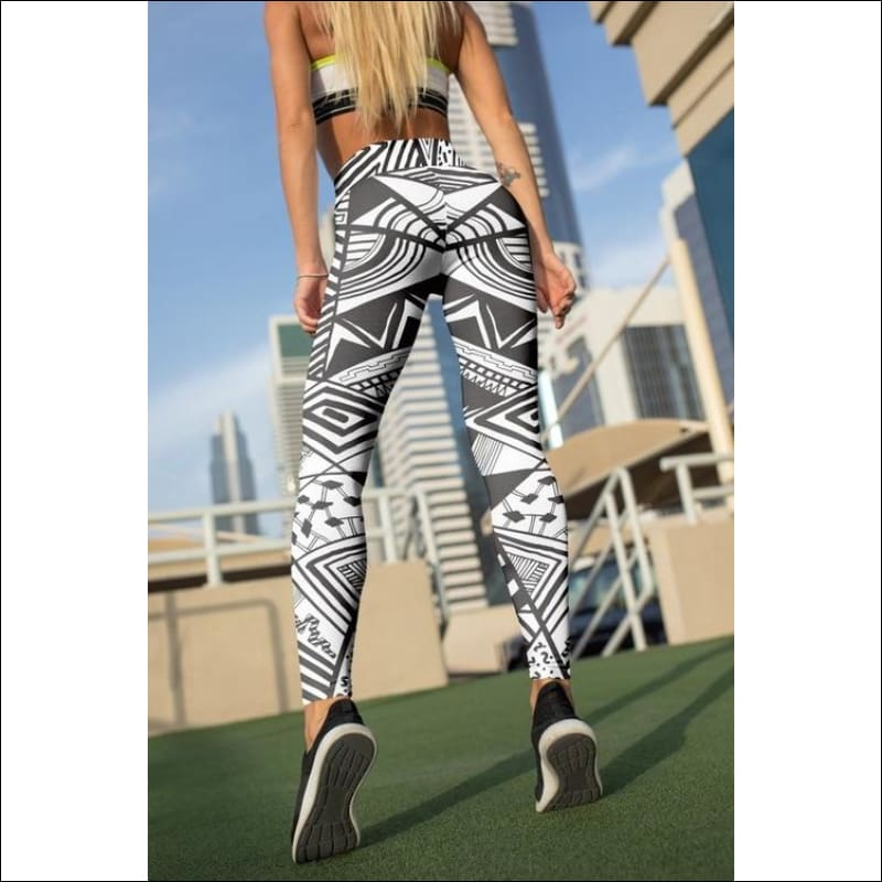 Geometric Leggings For Women- ULTRABEAST FITNESS