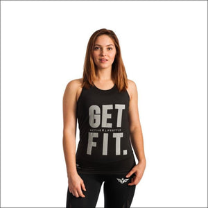 Open image in slideshow, GET FIT TANK TOP- ULTRABEAST FITNESS