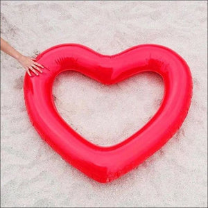 Open image in slideshow, Heart shaped  Inflatable Pool Float- ULTRABEAST FITNESS