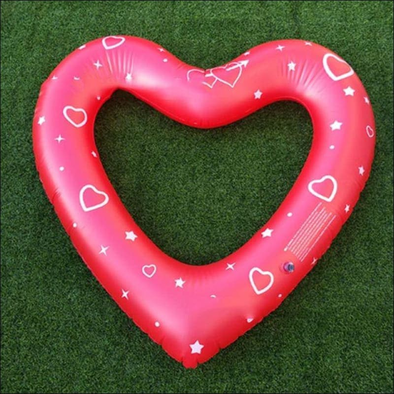 Heart shaped  Inflatable Pool Float- ULTRABEAST FITNESS