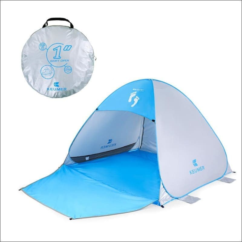 "Instant Automatic Pop Up Beach Tent (71"" + 37"") * 79"" * 53""- ULTRABEAST FITNESS"