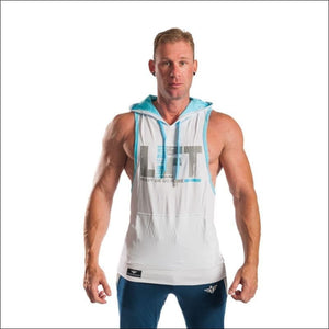 Open image in slideshow, LIFT STRINGER HOODIE- ULTRABEAST FITNESS