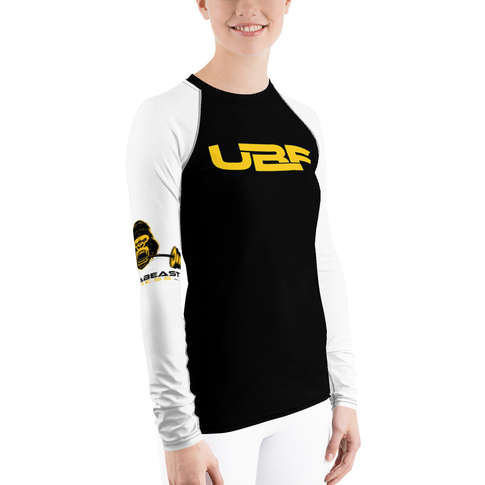 "Women's""UBF"" Rash Guard"