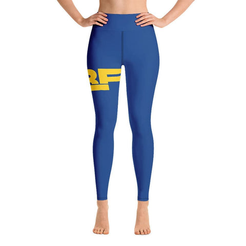 High waisted Ubf logo Yoga Leggings- ULTRABEAST FITNESS