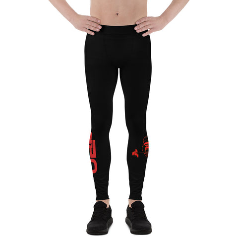 Image of Men's ubf print Leggings- ULTRABEAST FITNESS