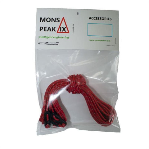 Image of Mons Peak IX Guy line set - Reflective- ULTRABEAST FITNESS