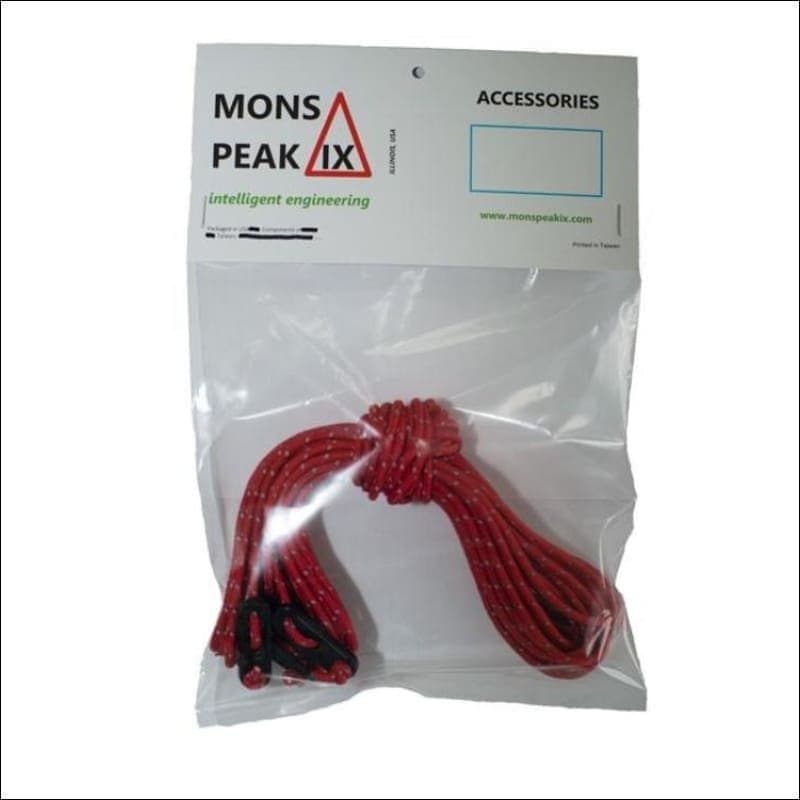 Mons Peak IX Reflective Guy line set + Tensioners- ULTRABEAST FITNESS