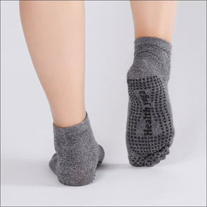 Non Slip Grip Five Toe Pilates Socks- ULTRABEAST FITNESS