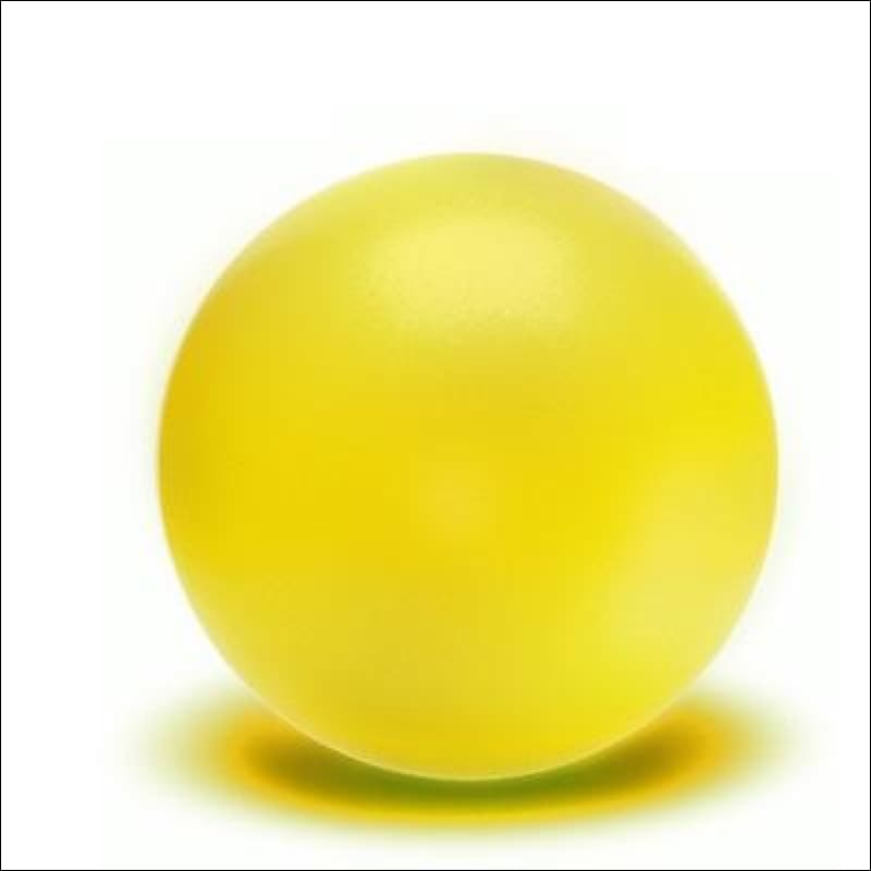 Physical Fitness Yoga Ball - Yellow - Fitness Balls